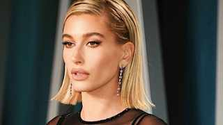 Hailey Bieber says that she never suffered with acne before. Picture: Instagram