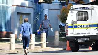 Sunnyside police station is closed due to a police officer testing positive to coranavirus. Picture: Thobile Mathonsi/African News Agency(ANA)