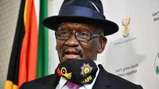Police Minister Bheki Cele says he is not at liberty to comment on whether the ban of the sale of alcohol and cigarettes will be lifted at the end of the level 4 lockdown. Picture: GCIS
