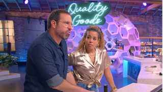 Cooked with Cannabis hosts and judges, Leather Storrs and Kelis PICTURE: Netflix