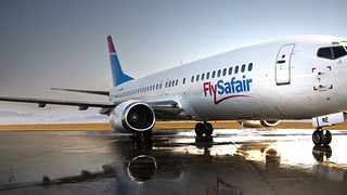 FlySafair says they're unlikely to fly in level 3 unless governments offer support. Picture: Supplied.