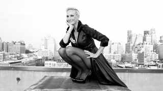 Amra-Faye Wright, known in some circles as Broadway's own Charlize Theron, is tonight's guest.  Picture: Supplied