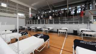 The field hospital set up in Khayelitsha. Picture: Armand Hough/African News Agency (ANA)