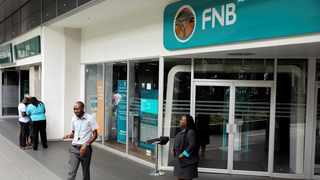FNB has announced that some of the services that were affected on Sunday and Monday have been resolved. Photo: Reuters