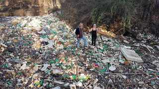 The lockdown has reversed progress made during recent months to clean up the Hennops River.
