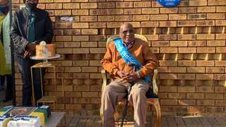 Struggle stalwart Andrew Mlangeni was honoured on his 95th birthday with President Cyril Ramaphosa lauding him for his bravery, humility and being principled. Photo: Sifiso Mahlangu