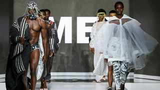 The Ke Tshwere Ke Tlala collection by Amen fashion. Picture: AFI.