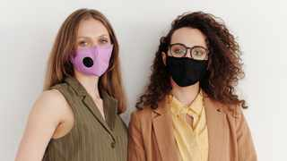 We always have to wear a mask when in public. Picture: Pexels