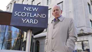 "Former detective Peter Bleksley presents ""New Scotland Yard Files"". Picture: Supplied"