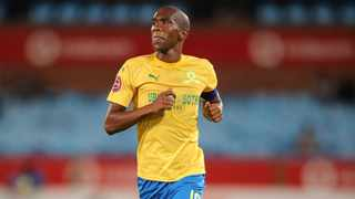 Anele Ngcongca believes he still has a four seasons remaining in his legs and so fired up is the Mamelodi Sundowns defender that he is ready to return to Europe for a second spell if the opportunity arises. Photo: Samuel Shivambu/BackpagePix