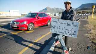South Africa's unemployment rate increased by 1 percentage point to 30,1% in the first quarter of 2020 compared to the fourth quarter of 2019. Picture: EPA/Nic Bothma.