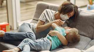 In children, the symptoms of Covid-19 might appear like the symptoms of any cold or flu. Picture: Pexels.
