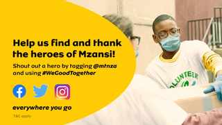 MTN's Heroes will be showcased on MTN's social media platforms and through the media. Picture: Supplied