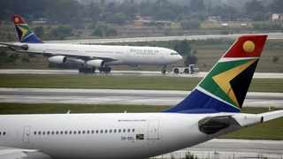 South African Airways (SAA) workers' unions have threatened to take a legal route in their battle with the government over a looming threat to liquidate the airline. File picture: Rogan Ward/Reuters
