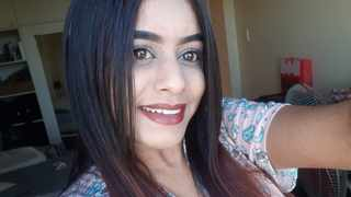 Danielle Maistry is looking healthy and doing well a week after she was discharged from the hospital following a brutal attack allegedly by her boyfriend. Picture Supplied.