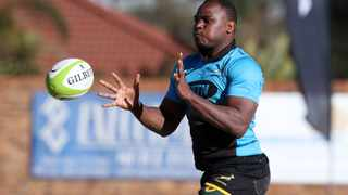 Chiliboy Ralepelle during a 2017 Springbok training camp. Picture: Muzi Ntombela/BackpagePix