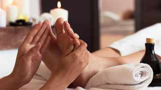 Taking care of your feet is just as important as taking care of your hands. Picture: Supplied