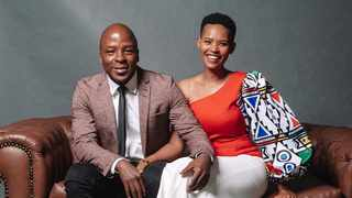 Kabelo Mabalane and his wife Gail Mabalane. Picture: Instagram