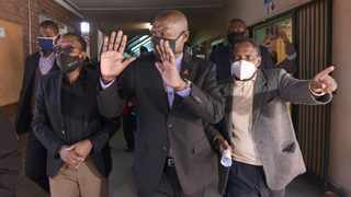 Health Minister Zweli Mkhize visiting the Dr George Mukhari Academic Hospital in Pretoria. Picture: Oupa Mokoena/African News Agency (ANA)