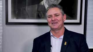CSA acting CEO Jacques Faul. Even as Cricket South Africa tried to get it right, the organisation still managed to get it wrong; substituting a white captain for a black one. Photo: screengrab from youtube