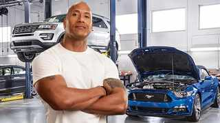 Thankfully you don't have to call Dwayne Johnson to wrestle your car into shape for the holidays. Picture: Newspress.