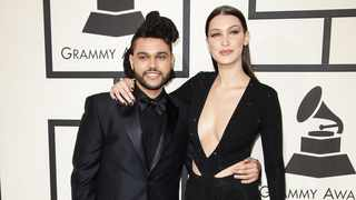The Weeknd and Bella Hadid. Picture: Bang Showbiz