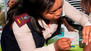 Families are cautioned to take measures to protect their young children from potentially becoming infected. Picture: The City of Cape Town's Health Department