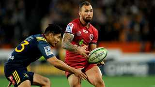 Quade Cooper has left the Reds for the Melbourne Rebels. Photo: Joe Allison / www.photosport.nz
