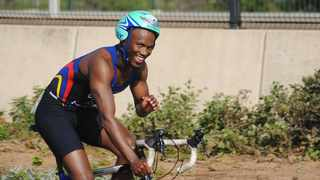 Triathlete Mhlengi Gwala survived a brutal attack on his legs while cycling in Durban on Tuesday morning. Picture: Facebook