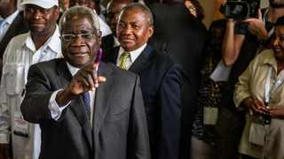 The leader of Mozambique's rebel movement Renamo, Afonso Dhlakama, has threatened to end negotiations with the government over fraud allegations. Picture: AFP/Gianluigi Guercia