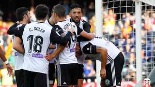 Valencia were held to a 1-1 home draw by 10-man Levante in La Liga after the visitors levelled eight minutes into stoppage time with a VAR-awarded penalty on Friday. Photo: @valenciacf_en via Twitter