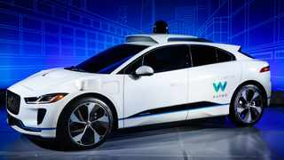 Waymo and Jaguar have joined forces to develop a self-driving electric car based on the new I-Pace. Picture: Nick Dimbleby / Jaguar