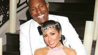 Tyrese Gibson aqnd wife Samantha. Picture: Instagram