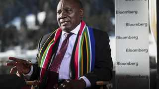 Cyril Ramaphosa Photographer: Simon Dawson/Bloomberg