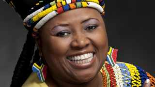 Pinkie Mtshali, soprano and musical director at Emmanuel Cathedral. Picture: Val Adamson