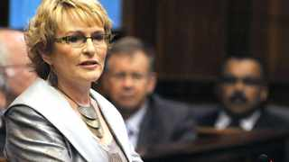 Cape Town - 120217 - Premier of the  Western Cape Helen Zille delivered her State of the Province Address in Provincial Legislature today.   -  Photo: Matthew Jordaan