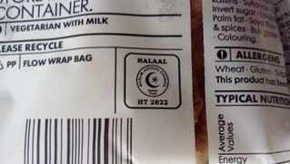 A Christian group is taking legal action over the religious labelling of food packaging, such as halaal signs. Photo: Handout/Supplied