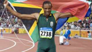 Olympic long jump silver medalist Khotso Mokoena narrowly missed out on qualifying for the London Olympic Games at the Doha Diamond League meeting. File picture.