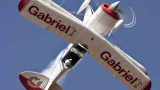 The Gabriel Wings Pitts Special aerobatic team takes to the skies.