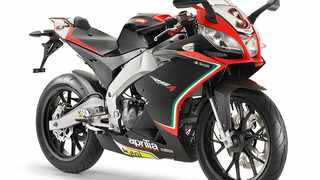 Racy-looking single is the first 125 on the market with an electronic quick-shifter.