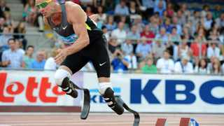 For six months, the personal fitness trainer for Oscar Pistorius, who is to become the first double amputee to compete in able-bodied Olympics, did not know his client did not have legs.