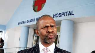 Dr Sibongiseni Dhlomo. Picture: Doctor Ngcobo/African News Agency (ANA)