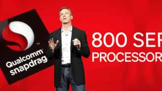 File photo: Qualcomm said its new Snapdragon 410 component will also include 4G cellphone connectivity technology.