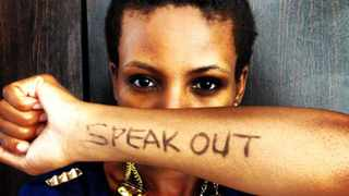 Actress Nolo Phiri took part in SADAG's We Care campaign and urges people to speak out about suicide and depression. Picture: SUPPLIED