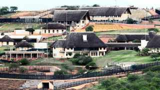 141012:  PRESIDENT Jacob Zuma's home in Nkandla  bove: Part of the 20-unit luxury compound built close to P\[fiona.stent\]the president Jacob Zuma s house as part of the R232-million expansion.   Top: The Zuma homestead and surroundings in 2009, left, and the development as it looks now, right. Pictures: DOCTOR NGCOBO and GCINA NDWALANE  Picture: DOCTOR NGCOBO