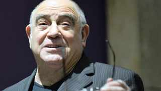 Ronnie Kasrils at the media launch of the Sidikiwe! Vukani! Vote No! Campaign at Wits University. Picture: Antoine de Ras.