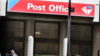A sign at an entrance to a Post Office. PostNet and the Post Office are in a legal showdown Photo: Simphiwe Mbokazi