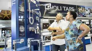 Italtile Ltd - Leigh Raath and Lungi Madlanga in the ITD Showroom in Boksburg.Photo Supplied
