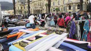The City of Cape Town is happy that the informal traders at the Grand Parade have been trading since Wednesday 3 June 2020. Photo: Michael Walker/African News Agency (ANA)