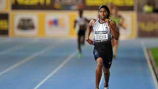 Caster Semenya wins the 800m Womens race during the 2016 ASA After Dark Track and Field Night Series at Green Point Athletics Stadium, Cape Town on 22 March 2016  ©Chris Ricco/BackpagePix